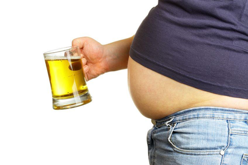 Barriga cervecera ¿mito o realidad?