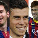 Los 5 futbolistas mejores pagados de la liga española (2016)