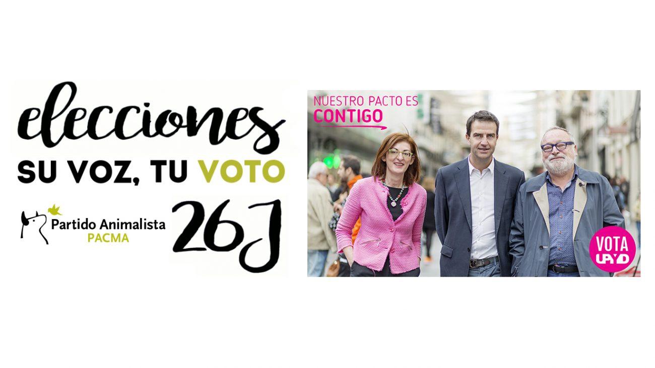 Los partidos pequeños tiran de ingenio para afrontar la campaña electoral del 26J