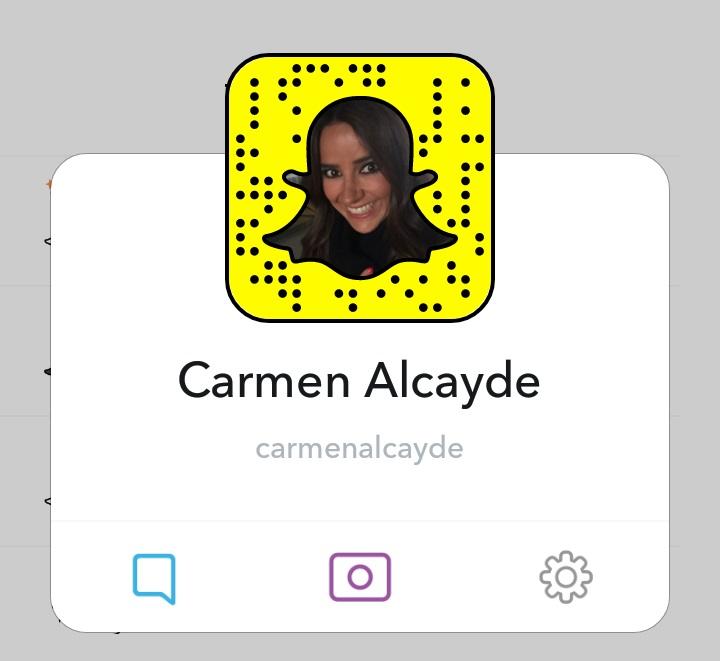 Carmen Alcayde Snapchat