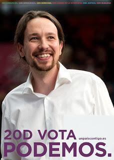 cartel Podemos 20D