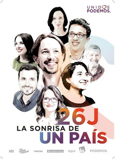 cartel Unidos Podemos 26J