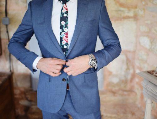 Cómo puede lucir un hombre su traje
