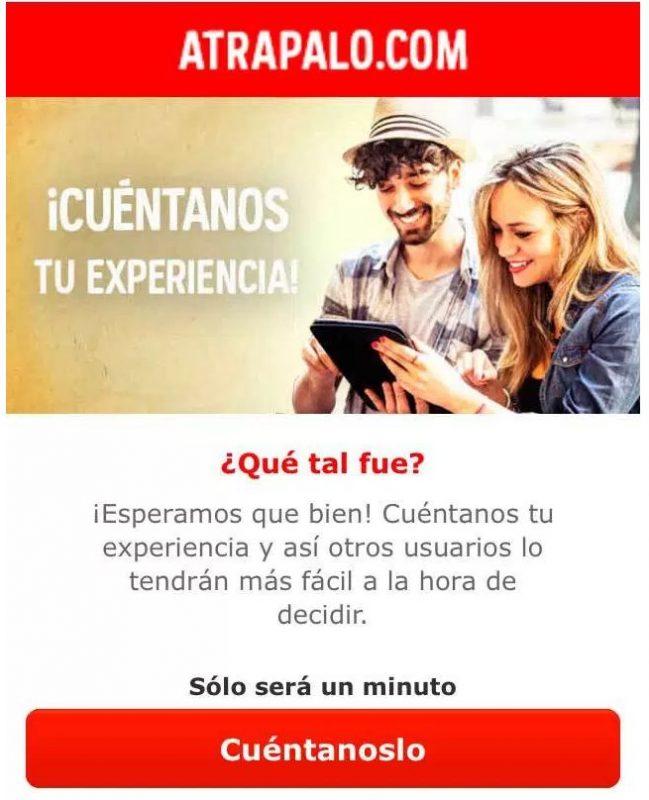 3 campañas de Email Marketing molonas: Atrapalo