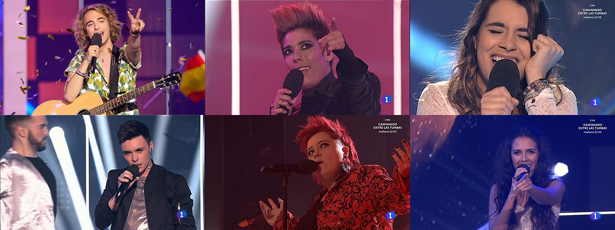 ENCUESTA: ¿Qué te parecieron las 6 actuaciones de «Objetivo Eurovisión»?
