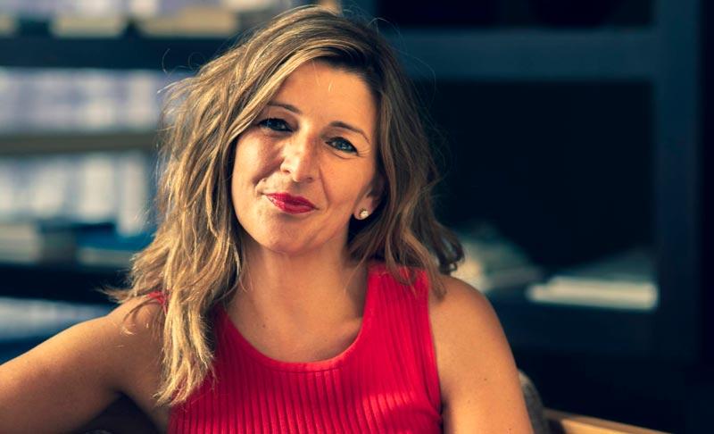 políticas guapas españolas: Yolanda Díaz