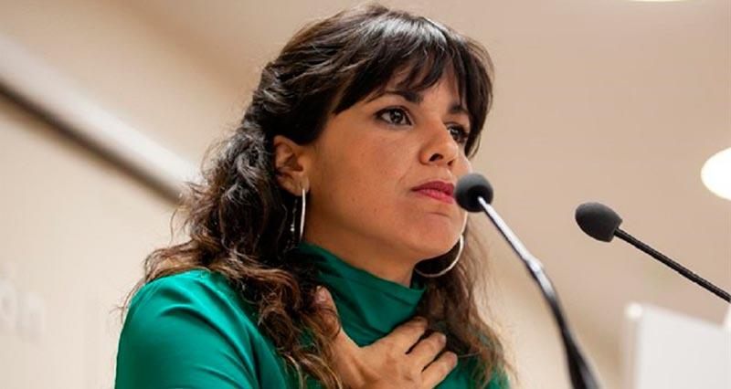 políticas guapas españolas: Teresa Rodríguez