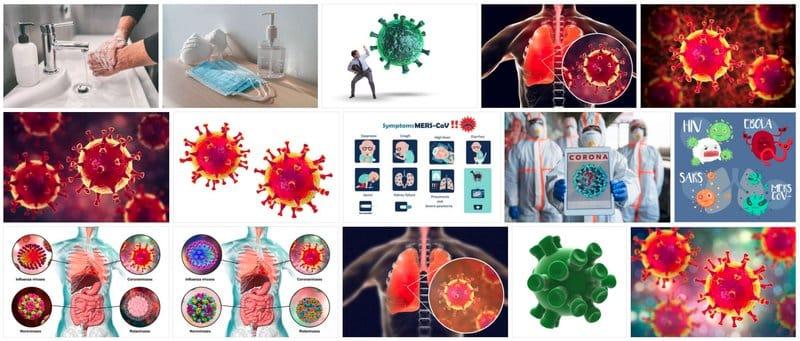 Recursos gráficos para informar del coronavirus de forma creativa: 123RF