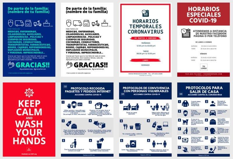 Recursos gráficos para informar del coronavirus de forma creativa: EDIT