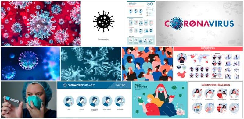Recursos gráficos para informar del coronavirus de forma creativa: Shutterstock