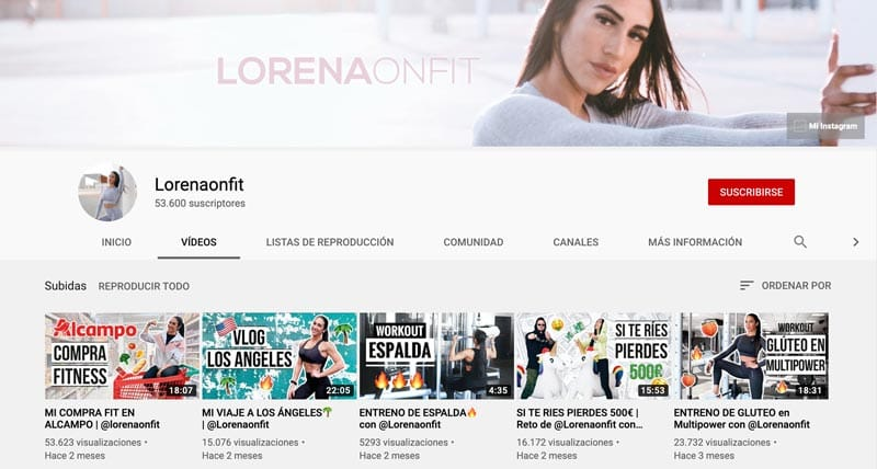 entrenador personal online: Lorena On Fit