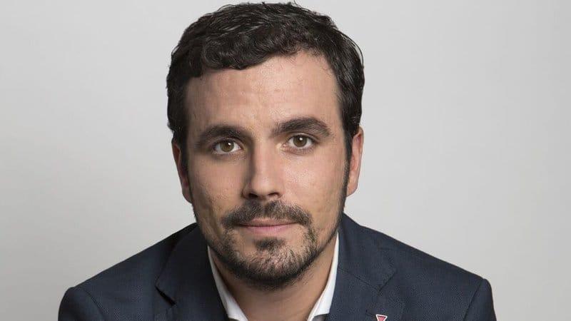 políticos españoles guapos: Alberto Garzón