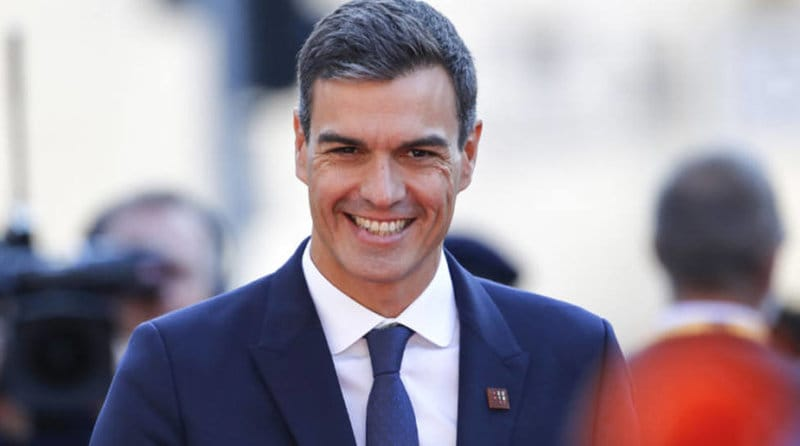 políticos españoles guapos: Pedro Sánchez