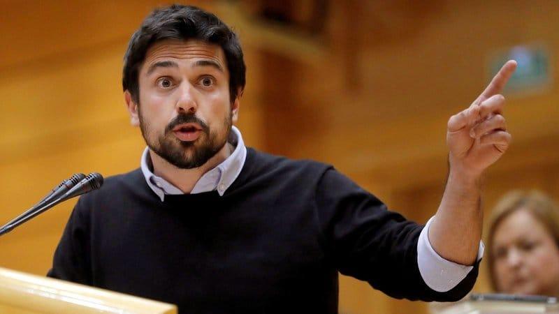 políticos españoles guapos: Ramón Espinar